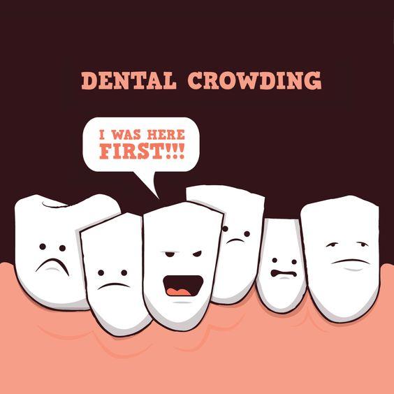 Τα δόντια μου είναι στραβά. Γιατί; Πώς να το αντιμετωπίσω;